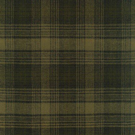 Fabric Flannel Tahoe Olive
