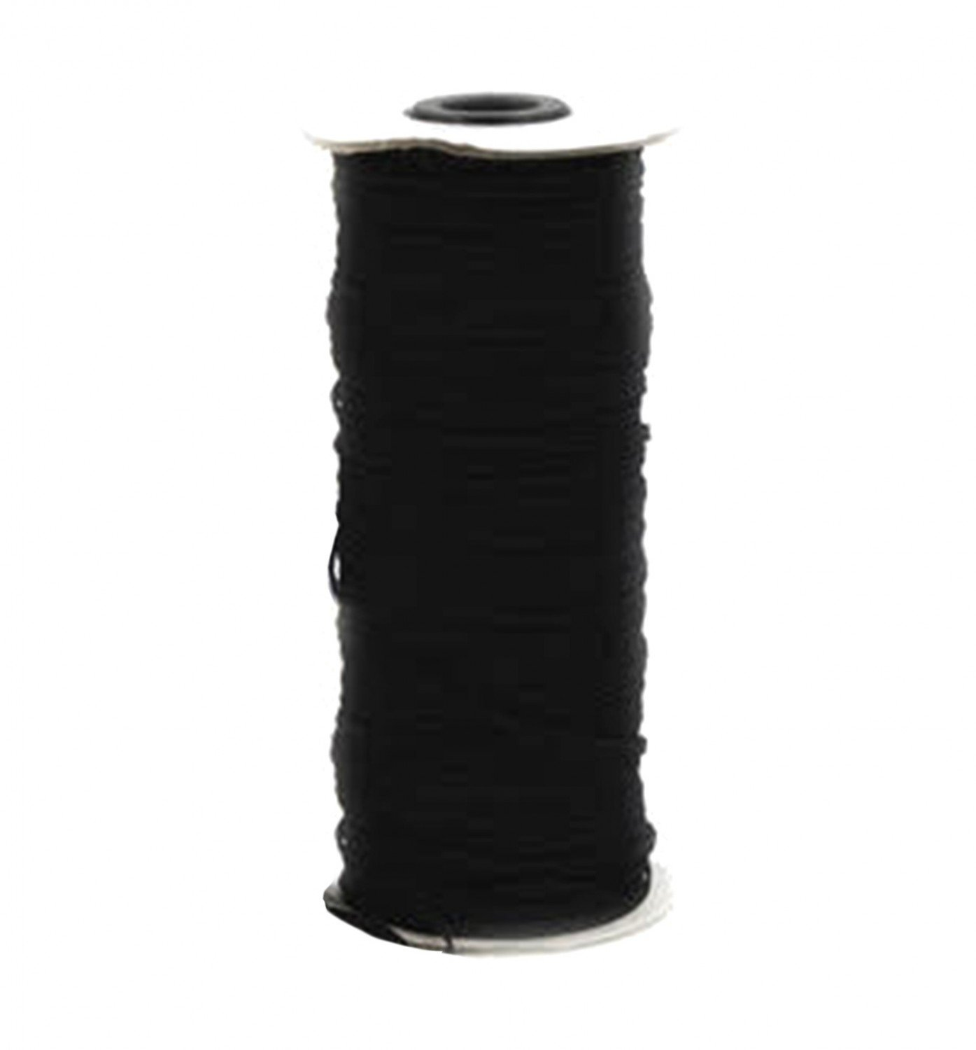 1/4 Traditional Elastic by the Yard - Black