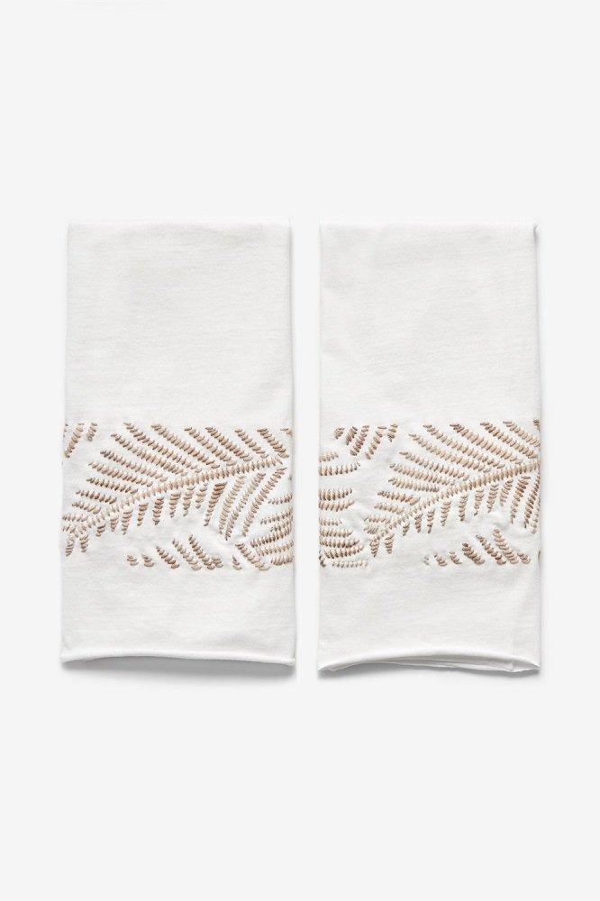 Alabama Chanin / Madelinetosh - Natural Fern Tea Towel Maker Kit