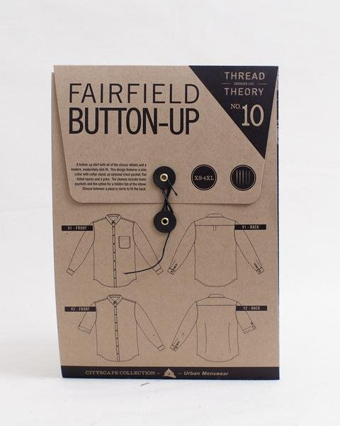 Fairfield Button-Up Pattern - Thread Theory