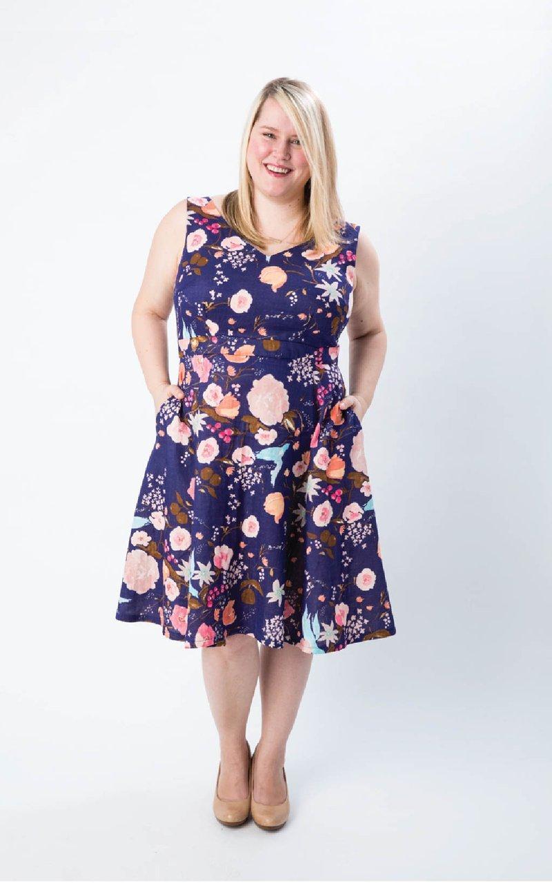 Pattern  Upton Dress - Cashmerette Patterns