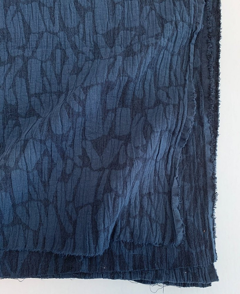 Weston Jacquard - Navy Blue