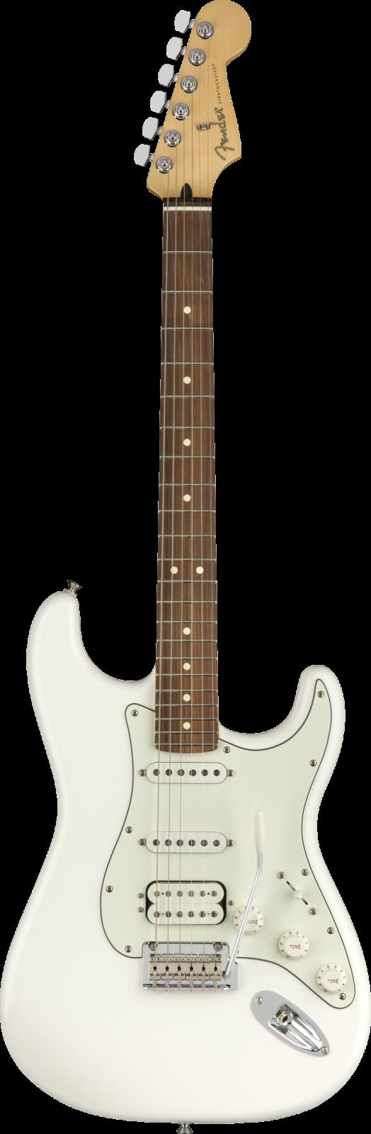 Fender Player Stratocaster HSS, Pau Ferro Fingerboard, Polar White