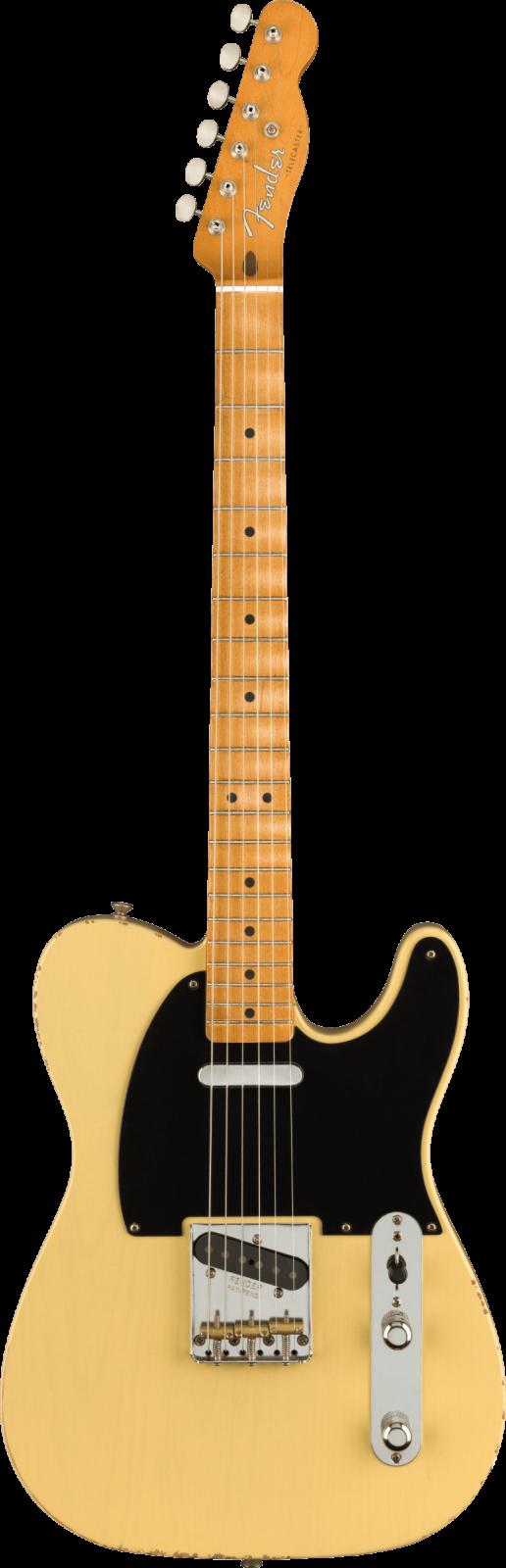 Fender Vintera Road Worn  '50s Telecaster, Maple Fingerboard, Vintage Blonde