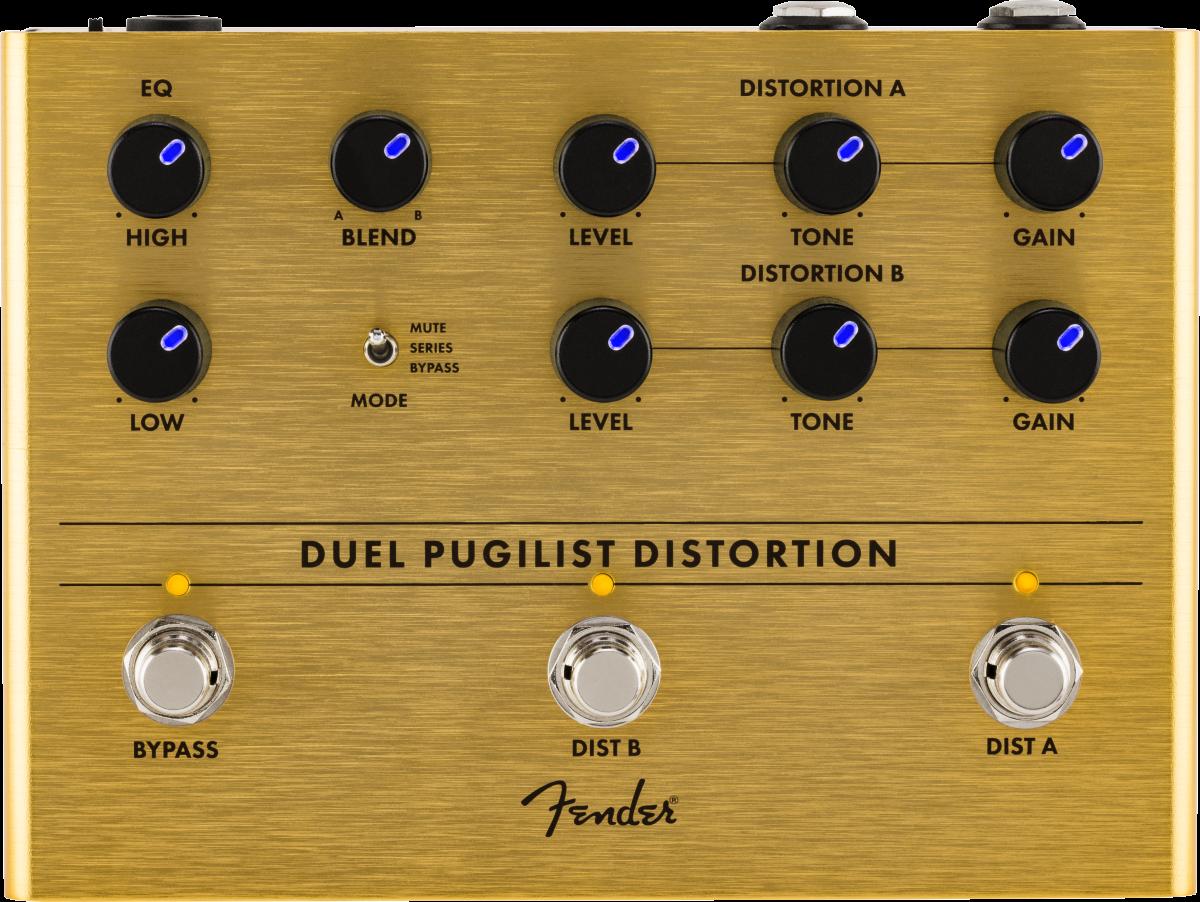 Fender Duel Pugilist Distortion