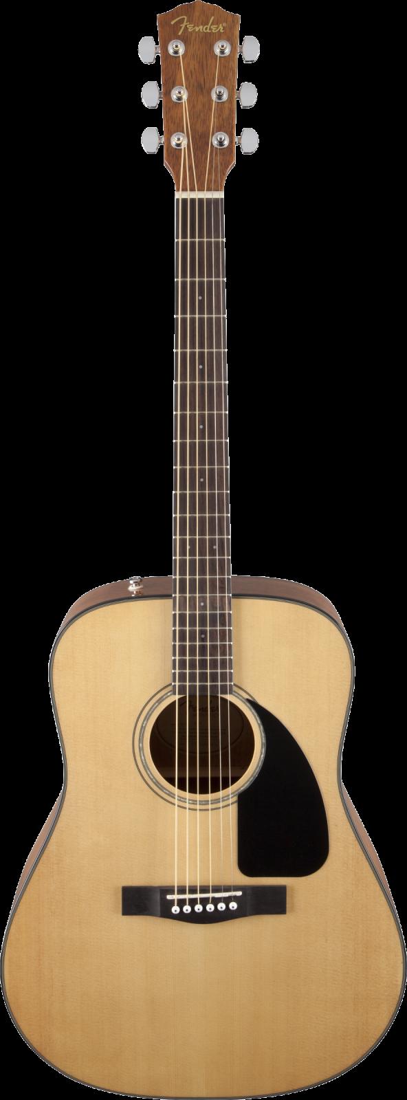 Fender CD-60 Dreadnought V3 w/Case, Walnut Fingerboard, Natural