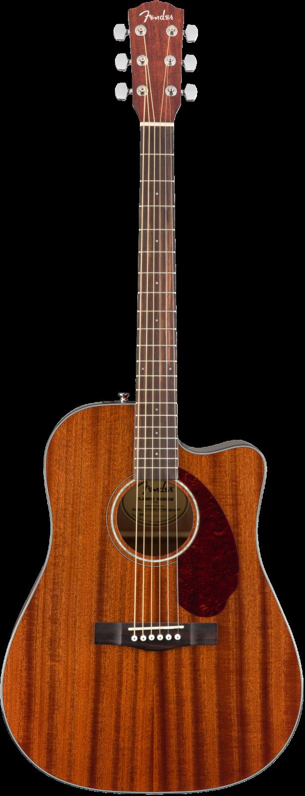 Fender CD-140SCE, All Mahogany