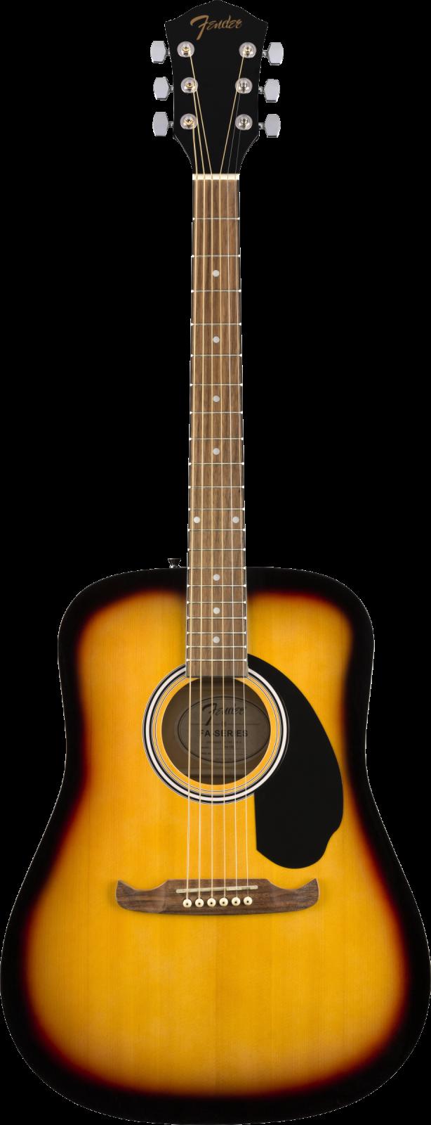 Fender FA-125 Dreadnought, Walnut Fingerboard, Sunburst