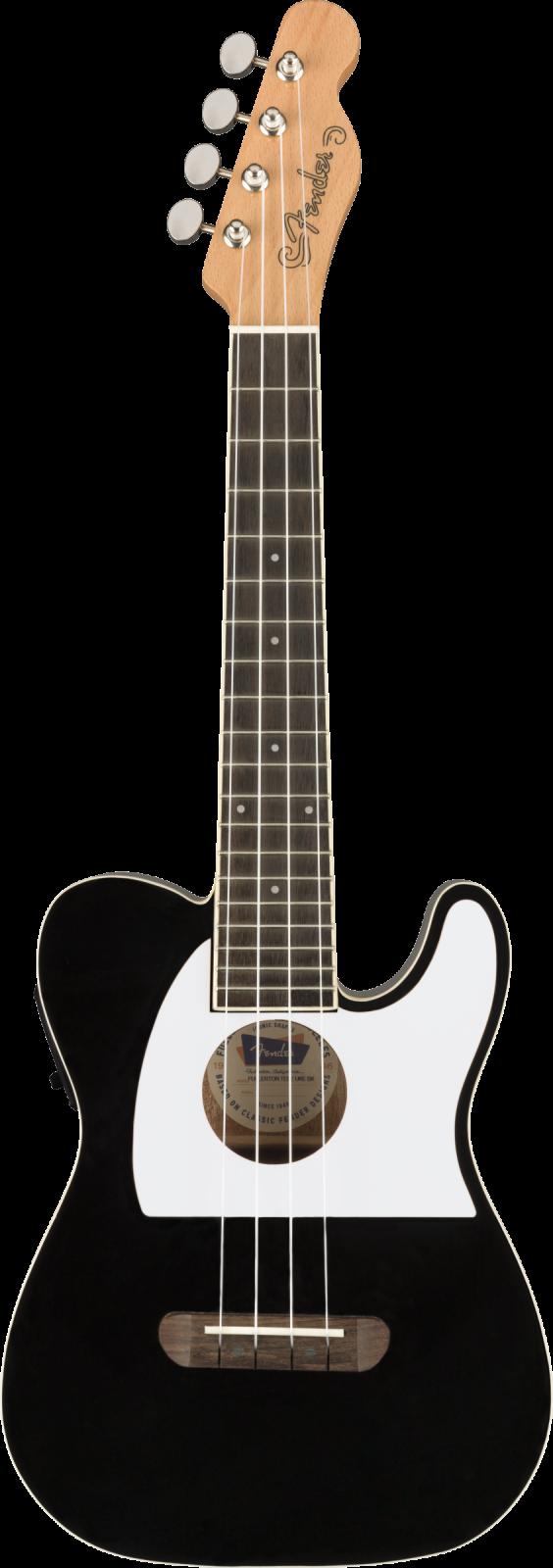 Fender Fullerton Tele Uke, Black