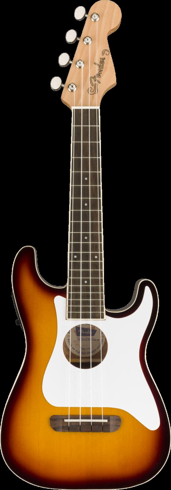 Fender Fullerton Strat Uke, Sunburst