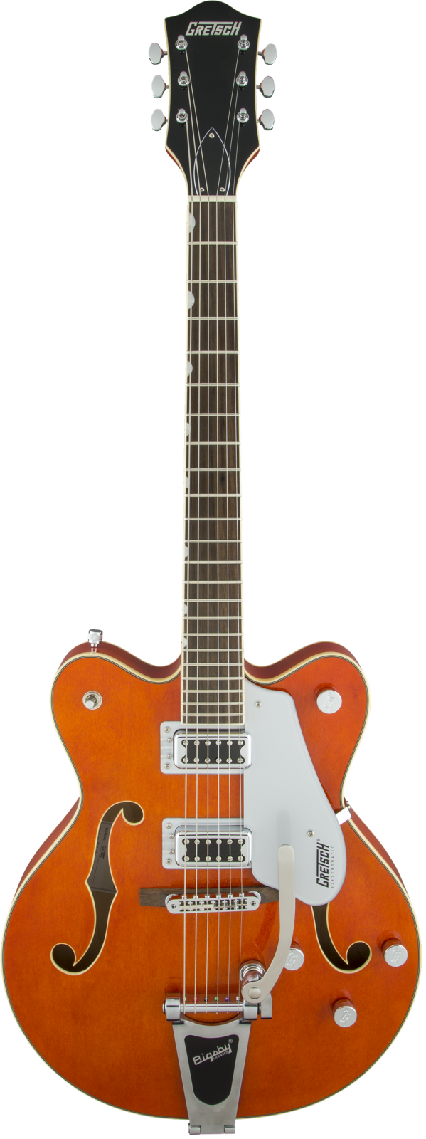 Gretsch G5422T Electromatic  Hollow Body Double-Cut with Bigsby , Orange Stain