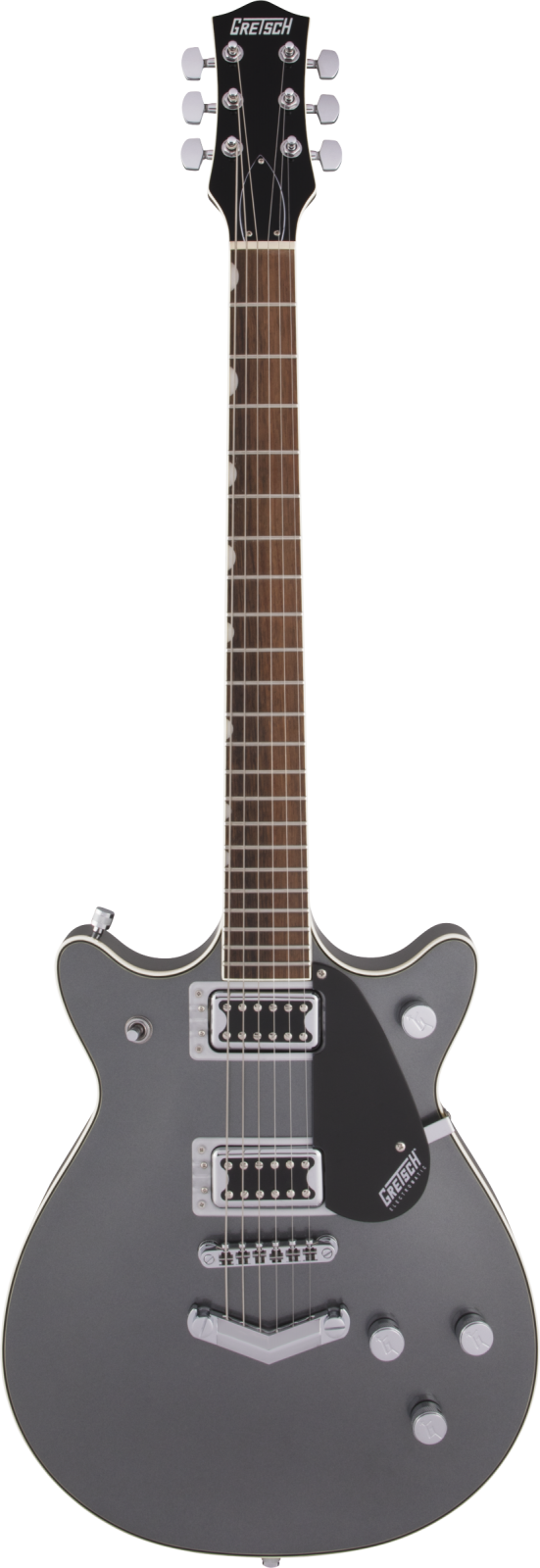 Gretsch G5222 Electromatic  Double Jet  BT with V-Stoptail, Laurel Fingerboard, London Grey