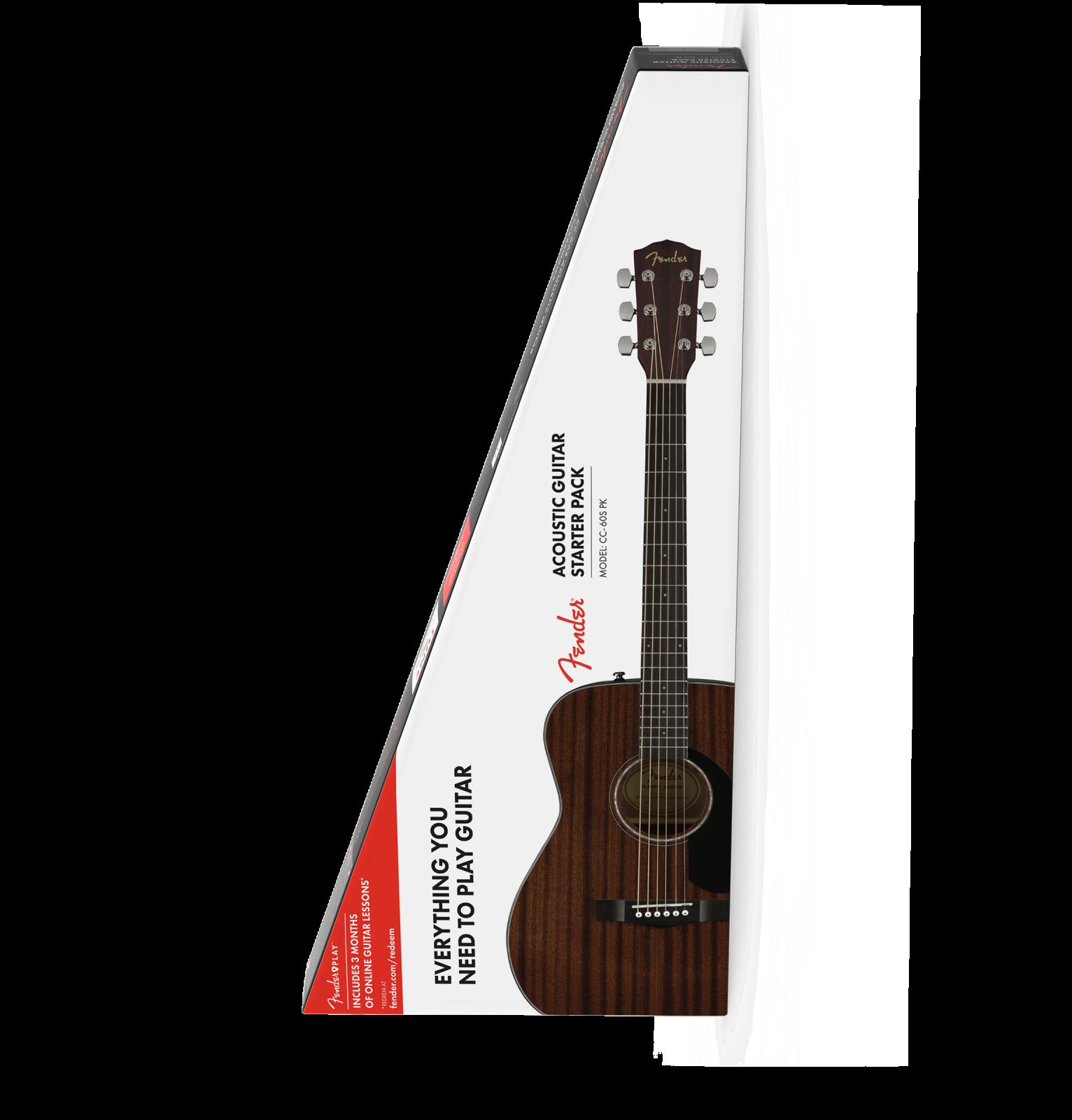 Fender CC-60S All Mahogany Pack v2