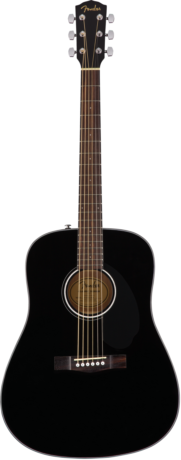 Fender CD-60S Black BK