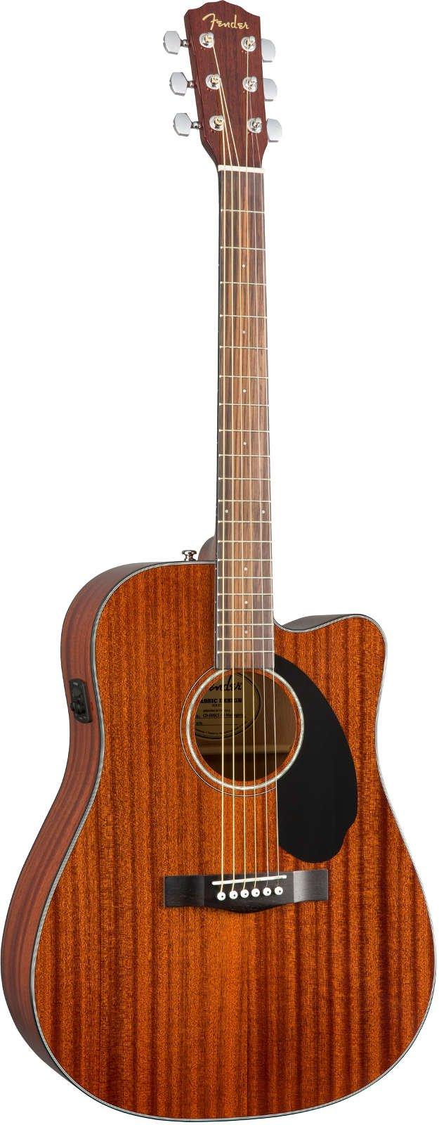 Fender CD-60SCE All-Mahogony WN