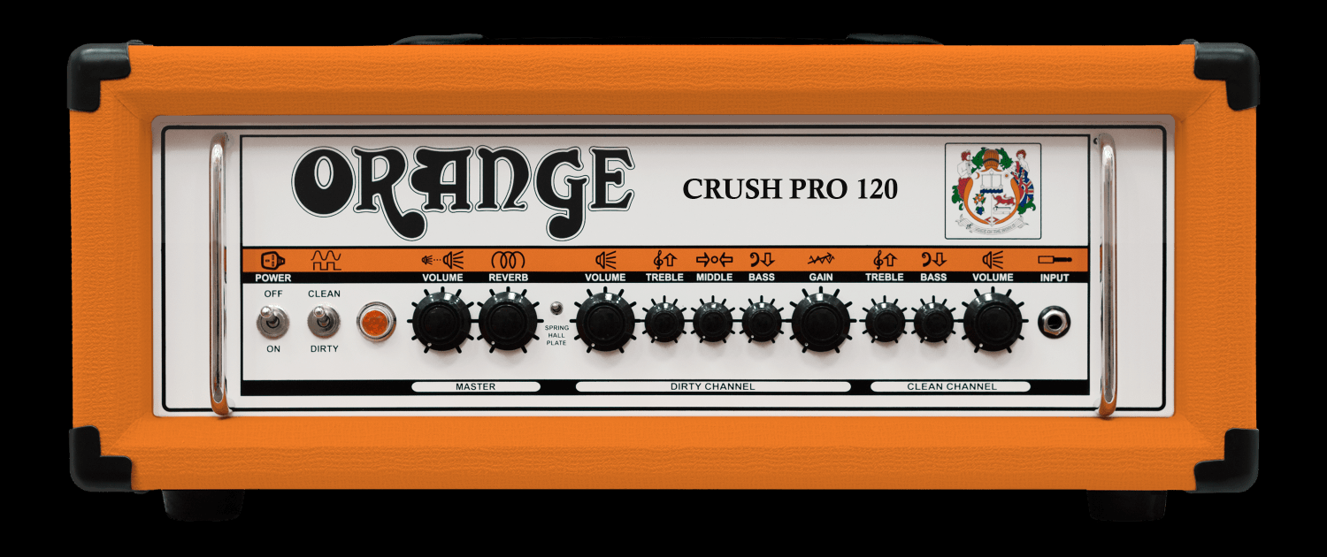 Orange CR120H Crush Pro Head
