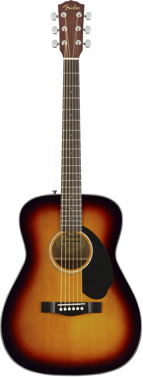Fender CC-60S Concert 3 Color Sunburst