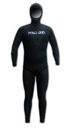 Lined Open Cell Mens Wetsuit 2.5mm