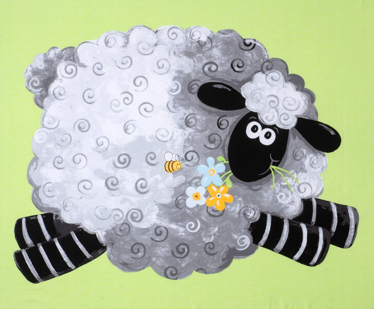 Lewe the Ewe panel