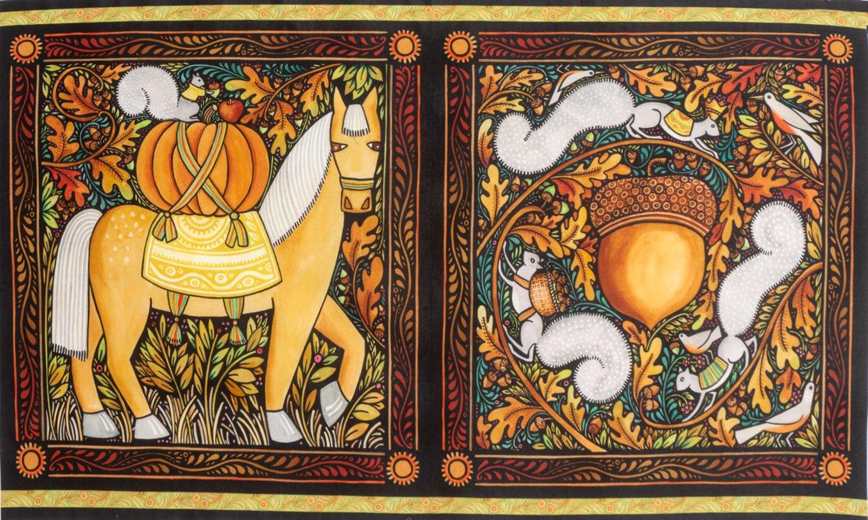 Four Seasons Autumn panel