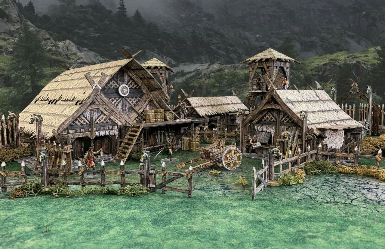 Battle Systems Fantasy - Northern Settlement