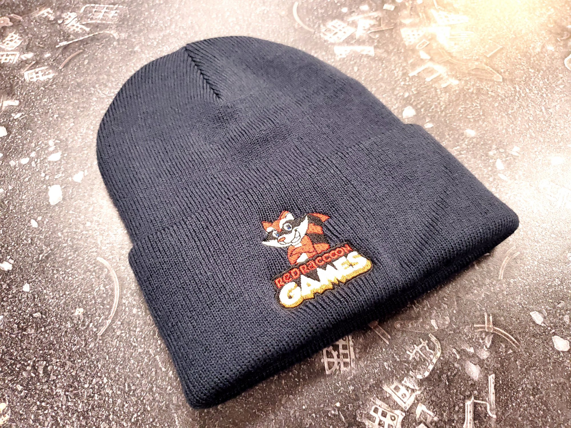 RRG Logo Embroidered Knit Stocking Hat