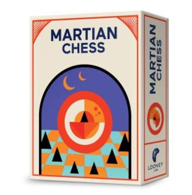 Martian Chess - A Pyramid Quartet Game