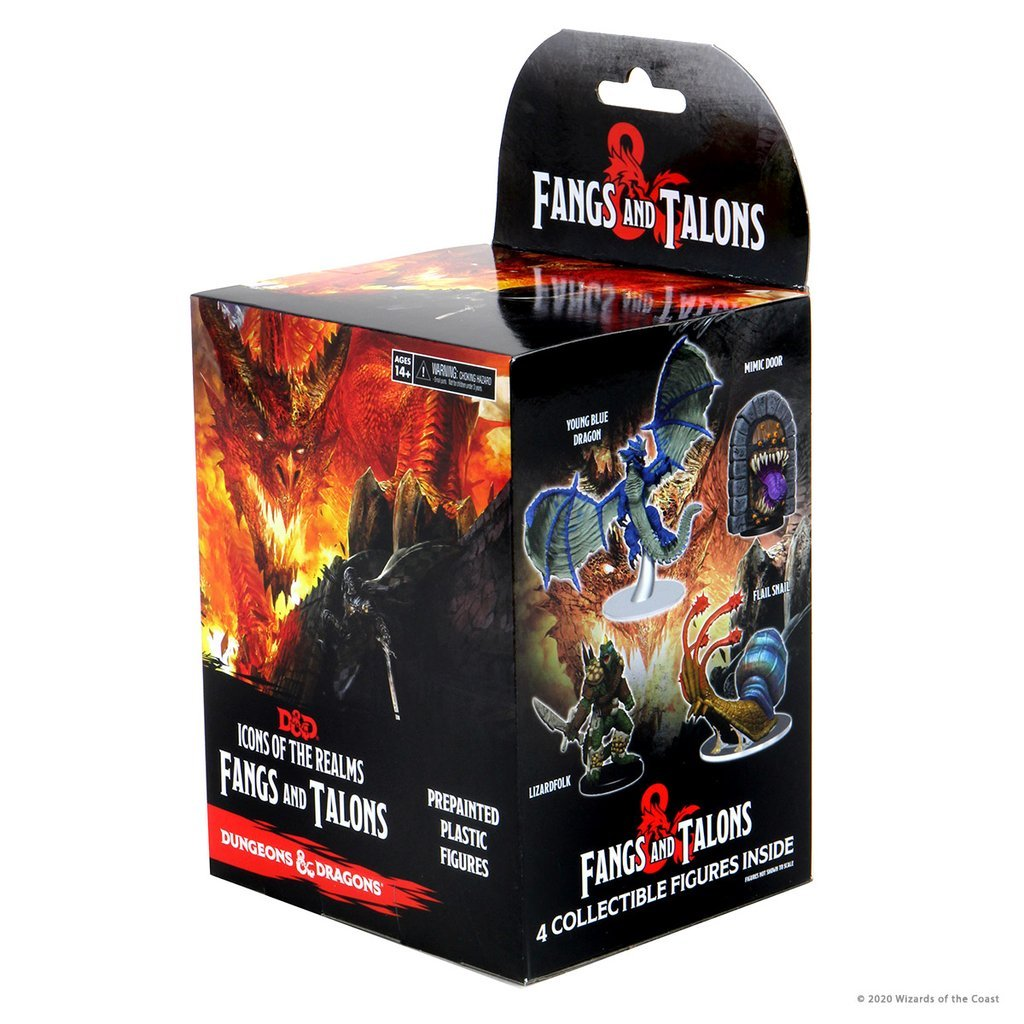 Dungeons & Dragons - Icons of the Realms Set 15 - Fangs and Talons Booster Pack