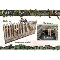 Battle Systems Fantasy - Palisade Walls