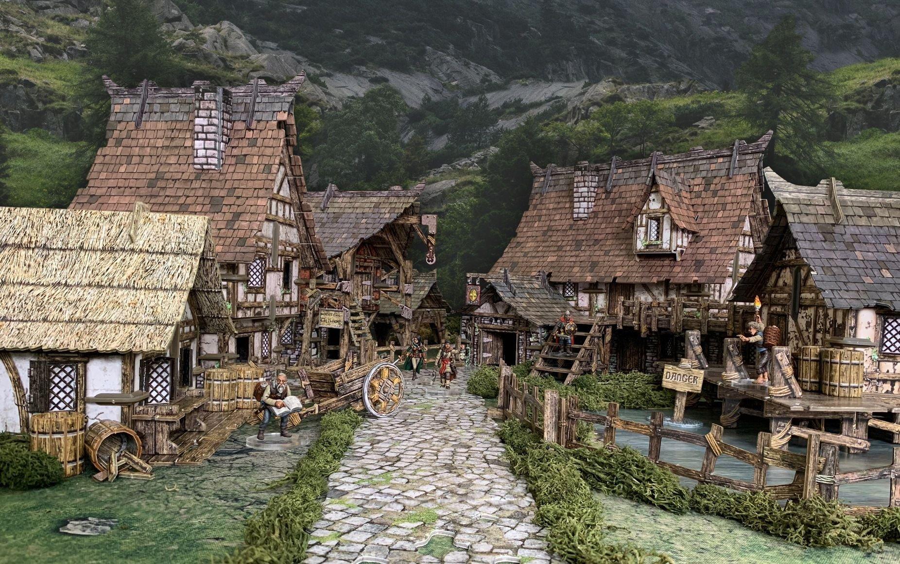 Battle Systems Fantasy - Fantasy Village