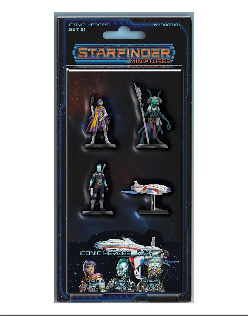 Starfinder Miniatures: Iconic Heroes Set 1