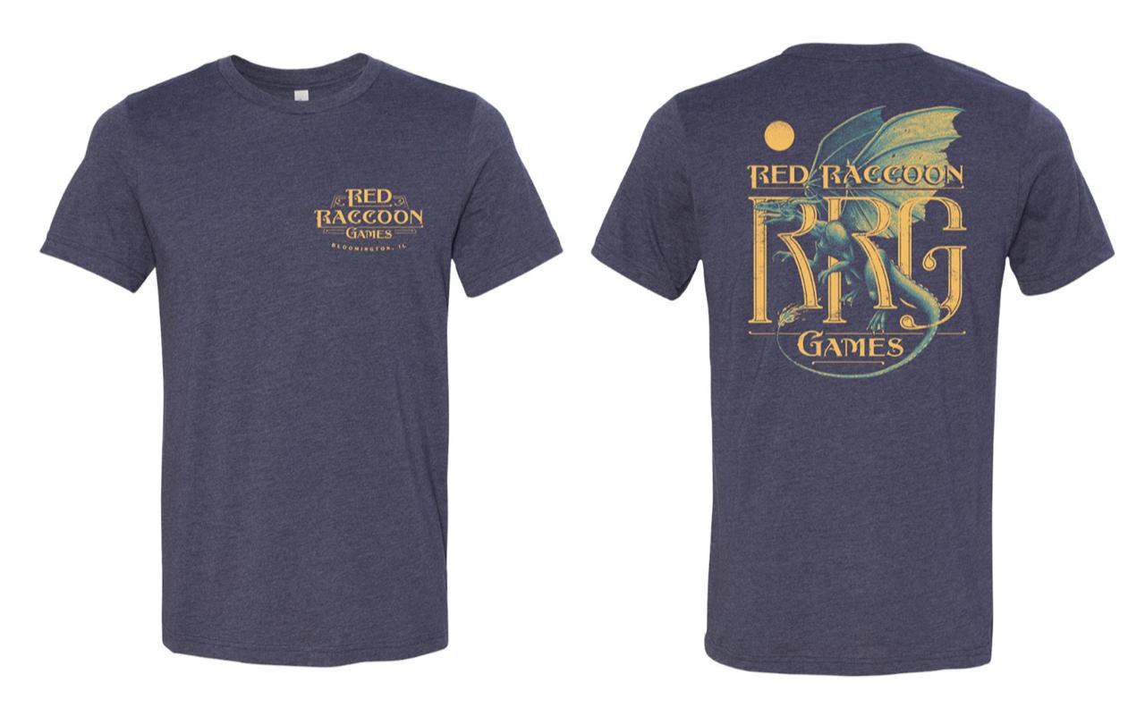 RRG Shirt - 2019 Limited - Blue Dragon on Dark Blue