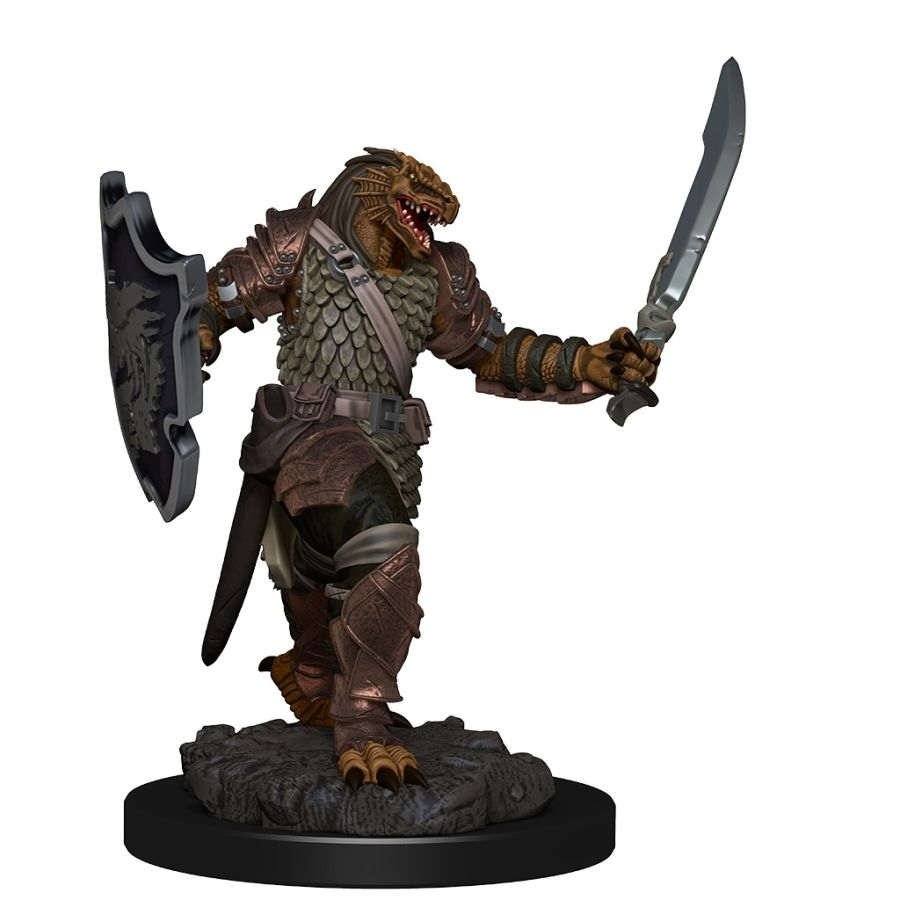 Dungeons & Dragons Icons of the Realms Premium Figures - Female Dragonborn Paladin