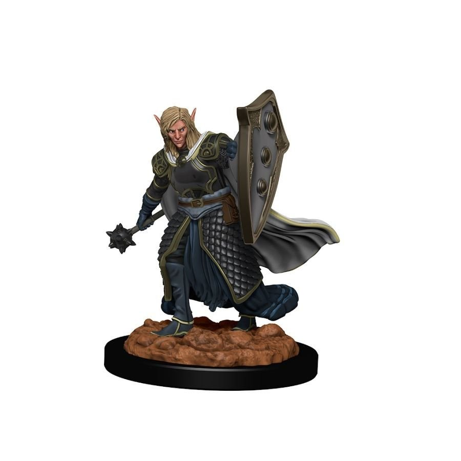 Dungeons & Dragons Icons of the Realms Premium Figures - Male Elf Cleric