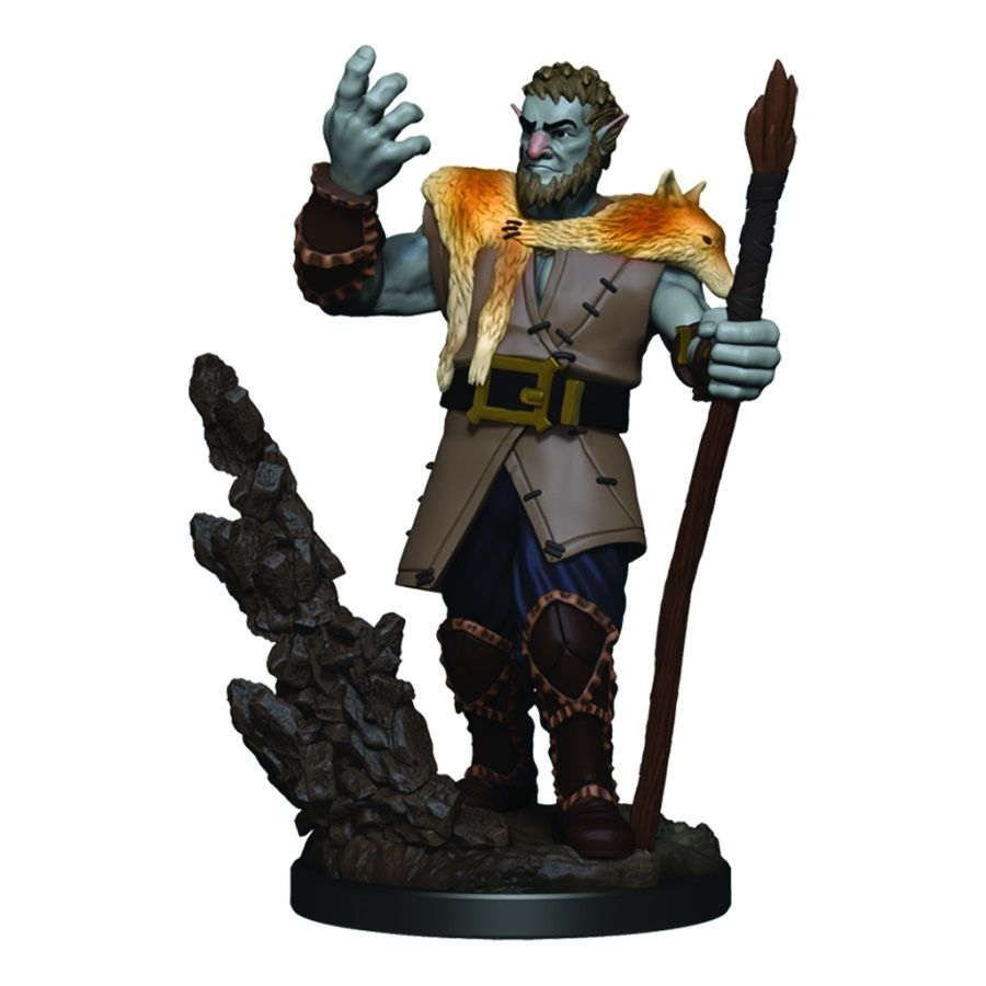 Dungeons & Dragons Icons of the Realms Premium Figures - Male Firbolg Druid