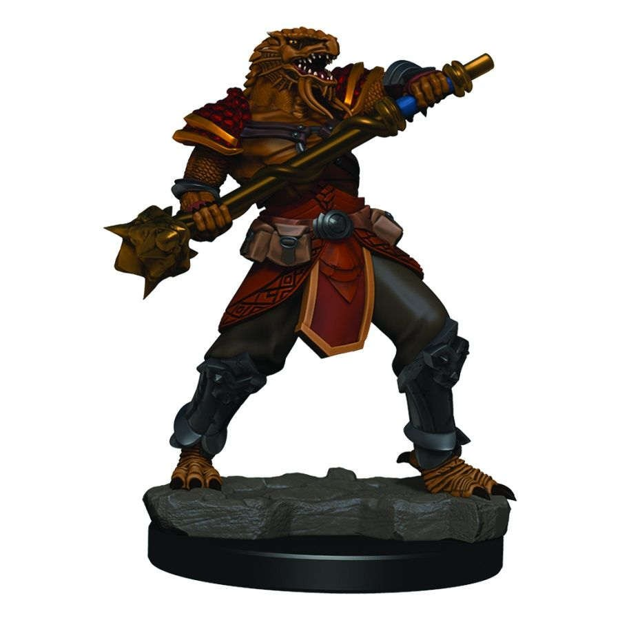 Dungeons & Dragons Icons of the Realms Premium Figures - Male Dragonborn Fighter