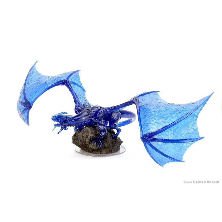 Dungeons & Dragons - Miniatures - Icons of the Realms - Sapphire Dragon Premium Figure
