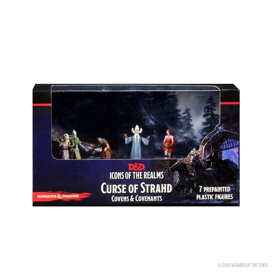 Dungeons & Dragons - Icons of the Realms - Curse of Strahd - Covens and Covenants Premium Set