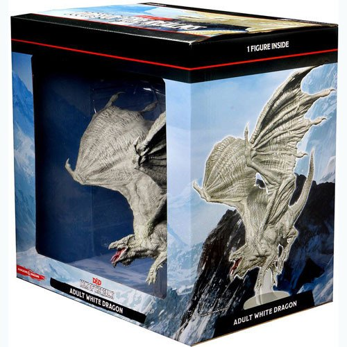 Dungeons & Dragons Icons of the Realms Premium Figures - Adult White Dragon