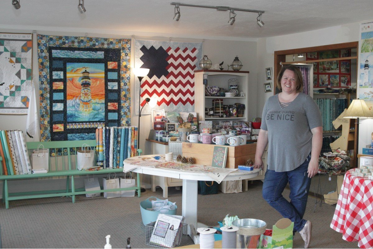 Adrienne at Stiches Quilt and Craft creates crafting retreats for you to enjoy your hobbies!