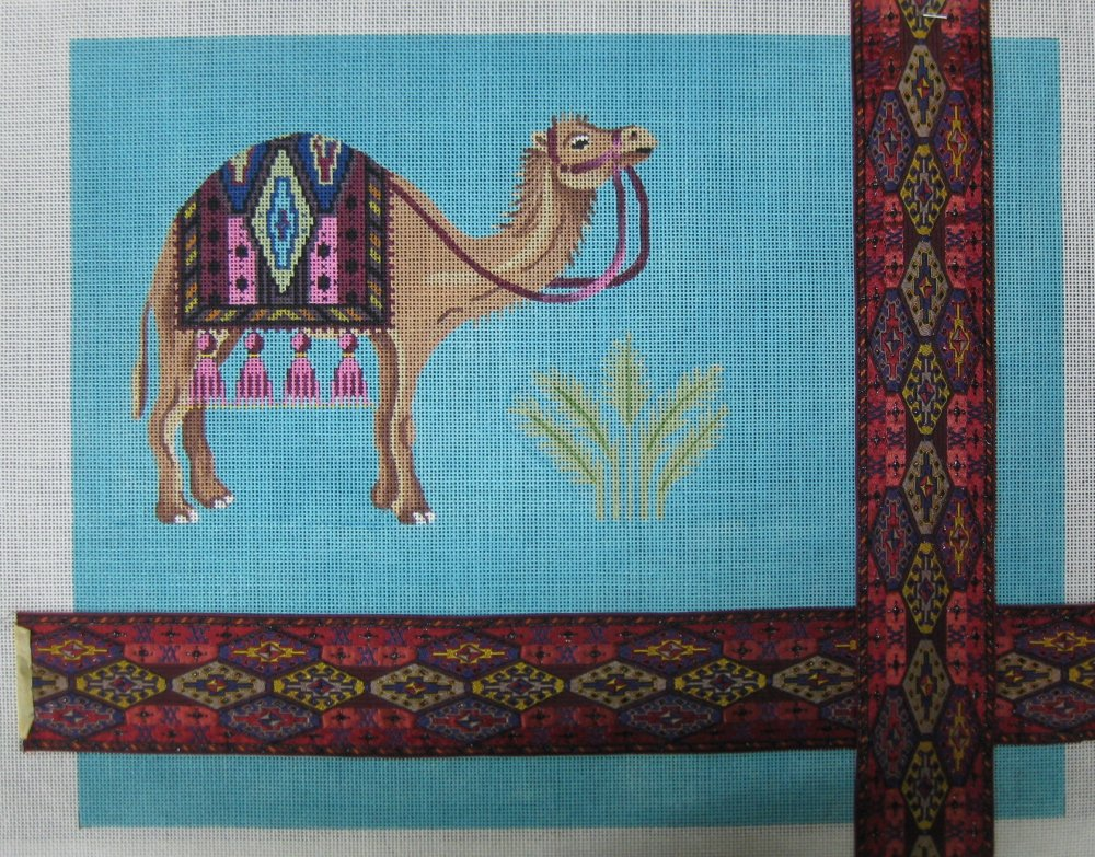 Camel with Ribbon