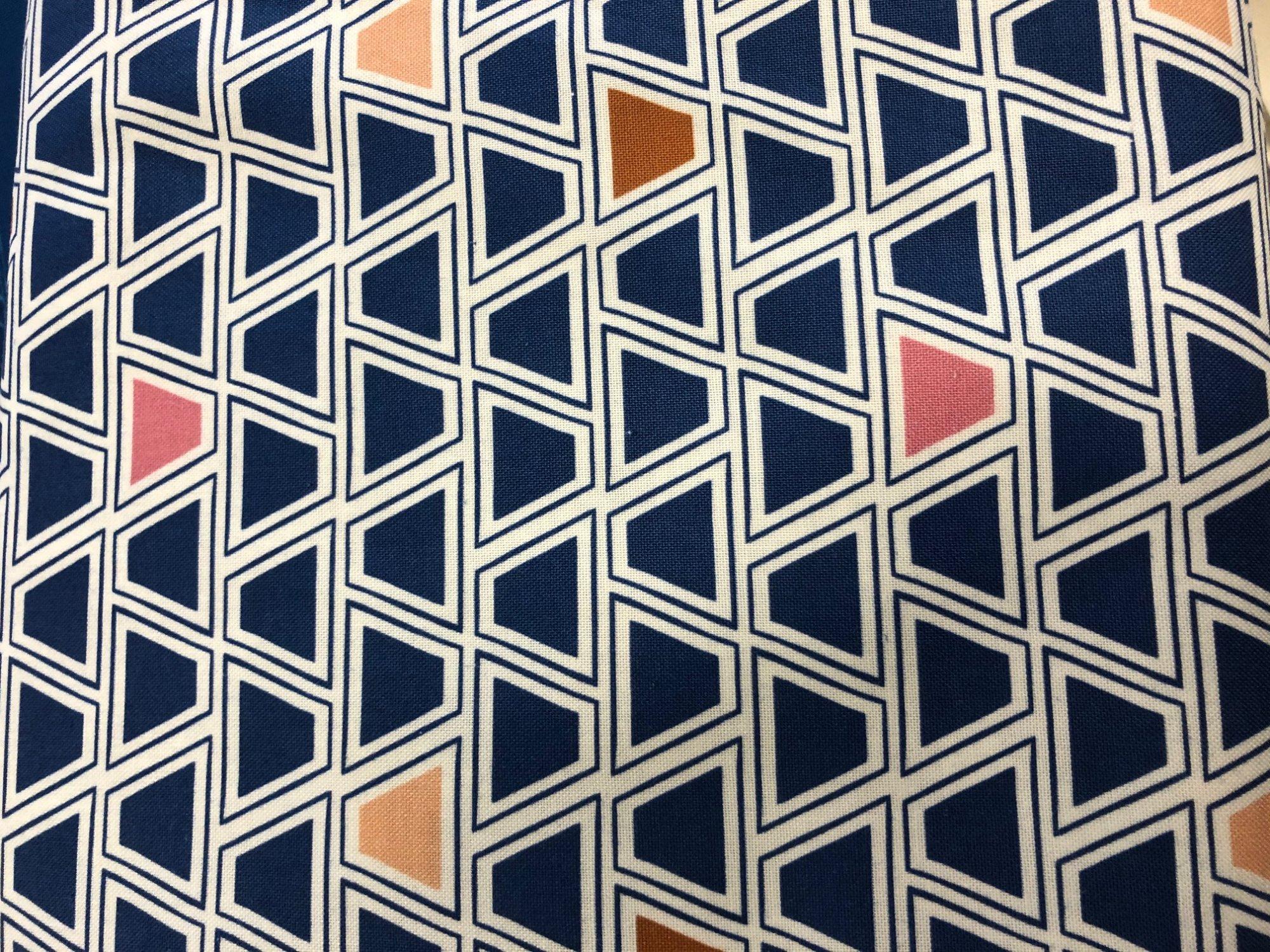 Figo Geometric Blue Multi