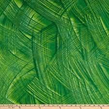 Crosshatch Palm Green
