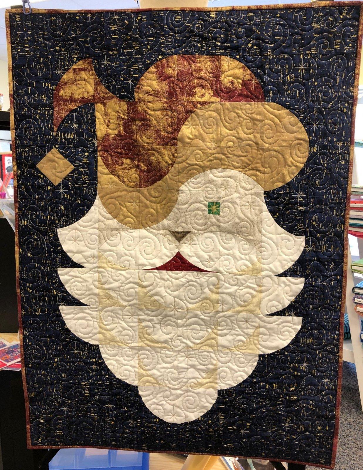 Posh Santa Fabric Kit