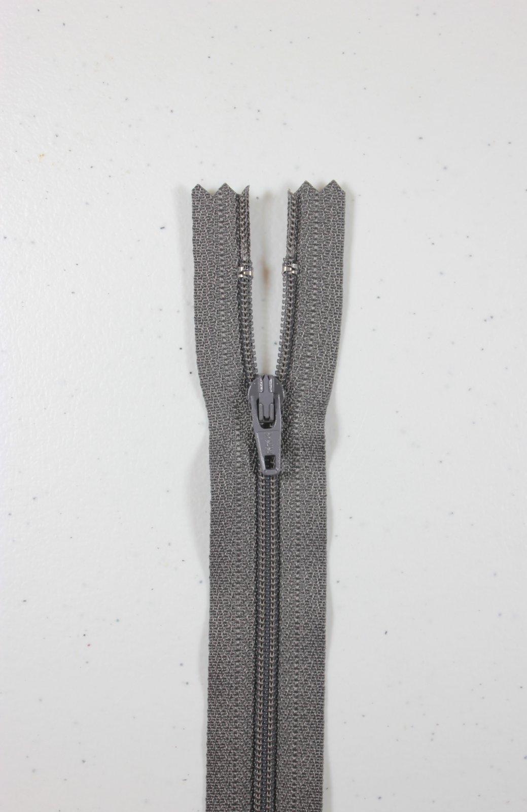 Charcoal 14in Bulk YKK Zipper