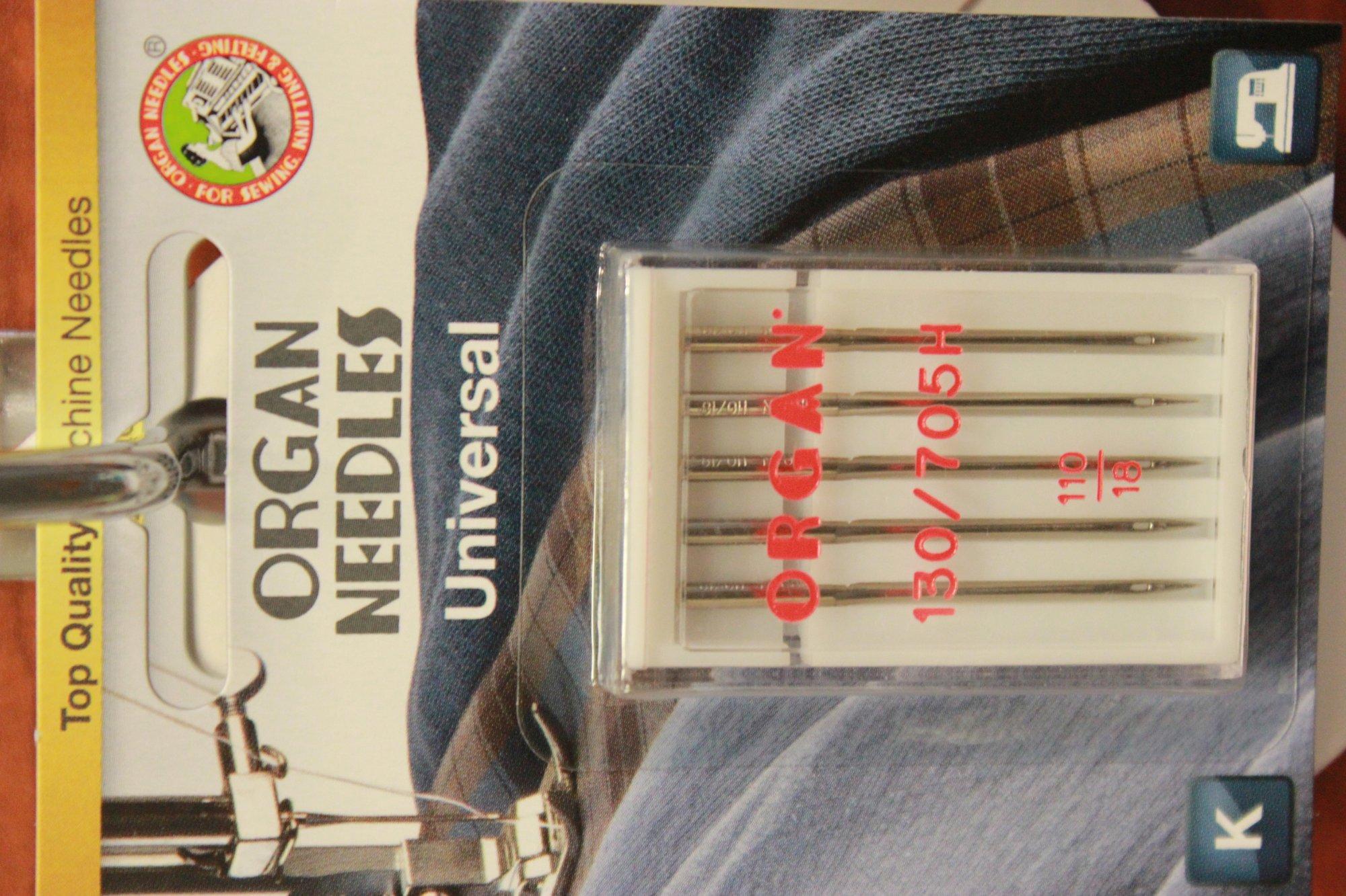 Organ Needles Universal 110/18