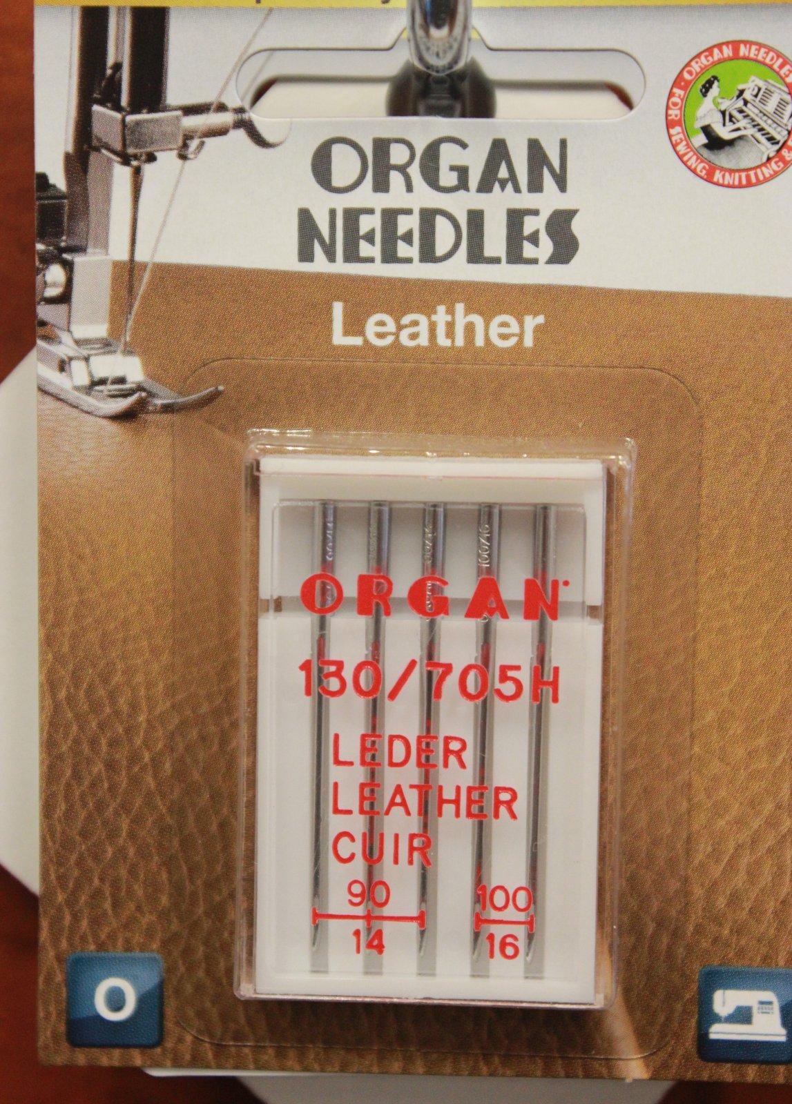 Organ Needles Leather Astd