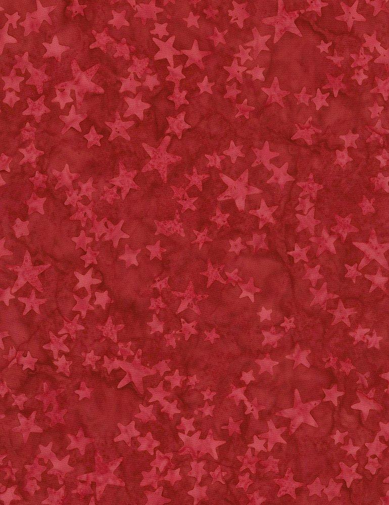 Tonga Batik Patriot Red