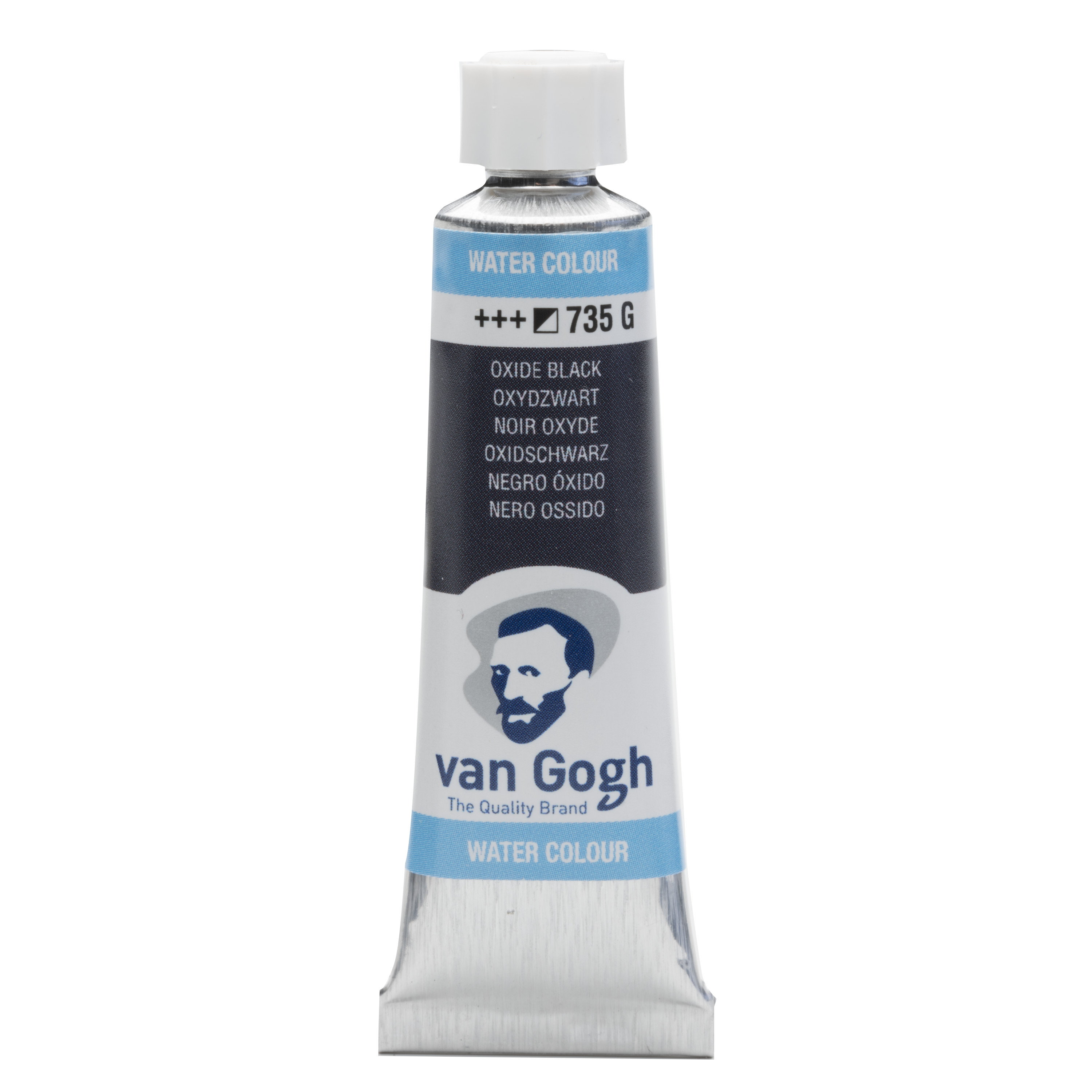 Van Gogh Watercolour Tube 10 ml Oxide Black 735