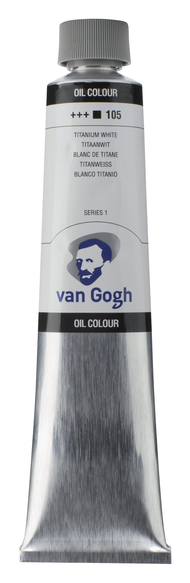 Van Gogh Oil Colour Tube 200 ml Titanium White 105